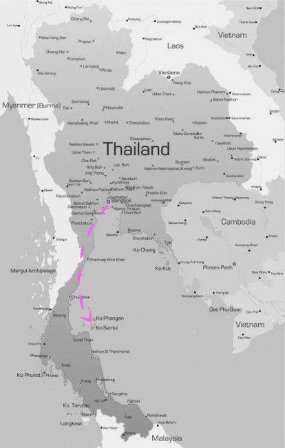 mapthailand